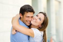 Flirten während beziehung